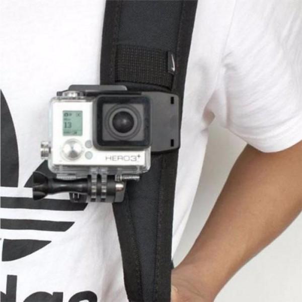 Прищепка большая для GoPro с поворотом на 360°