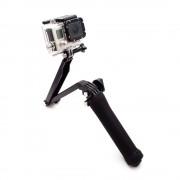"""Монопод розкладний, 3-х осьовий """"GoPro 3-Way Arm Grip Tripod"""""""