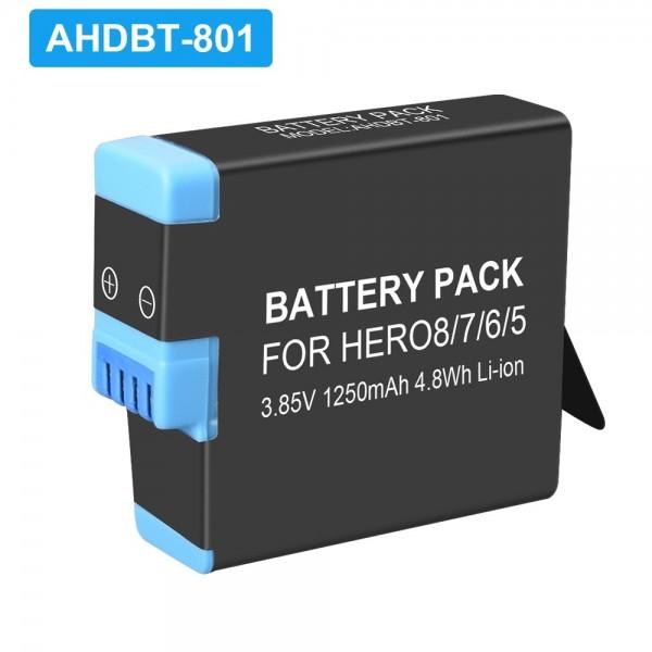 Акумулятор GoPro HERO8 HERO7 HERO6 Suptig AHDBT-801