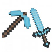 Алмазный МЕЧ и КИРКА из Майнкрафт| Minecraft