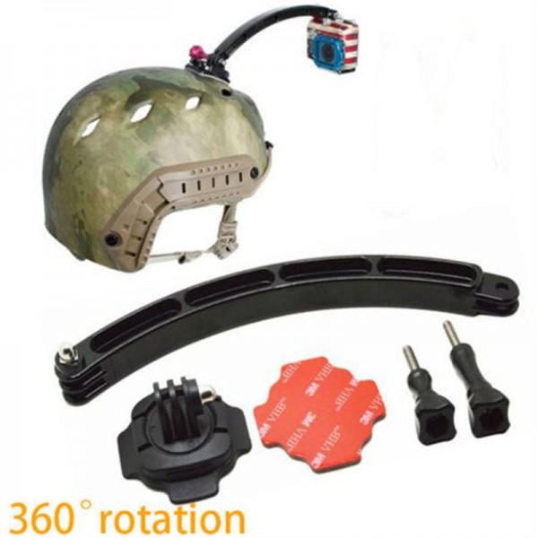 """Крепление на шлем - вынос с поворотом 360° """"GoPro Arm Mount"""" для экшн камер"""