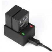 Зарядний пристрій подвійний для GoPro 3, 3 +