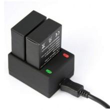 Зарядное устройство двойное для GoPro 3, 3+