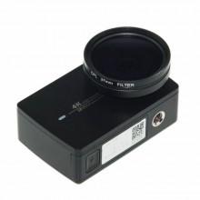 Поляризационный CPL фильтр 37 mm для Xiaomi Yi 4K, 4k+