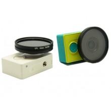Поляризационный CPL фильтр 52 mm для Xiaomi Yi Sport, Travel, Basic