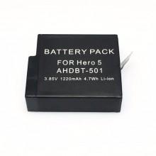 Аккумуляторная батарея для GoPro Hero 5, 6, 7 (ЛИЦЕНЗИЯ)
