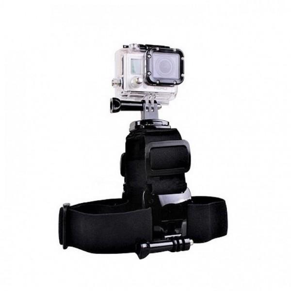 Крепление на голову для двух камер Double Camera Head Strap