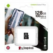 Карта пам'яті 128Gb MicroSD SDHC Kingston A1 100Mb \ s