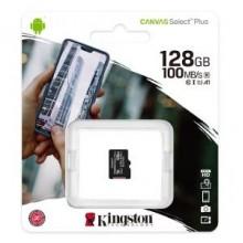 Карта пам'яті 128Gb MicroSD SDHC Kingston A1 100Mb \ s