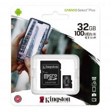 Карта пам'яті 32Gb MicroSD SDHC Kingston A1 100Mb \ s