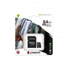 Карта пам'яті 64Gb MicroSD SDHC Kingston A1 100Mb \ s