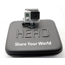 Кейс для камеры и аксессуаров водостойкий (средний-S) GoPro, Xiaomi Yi, Sjcam