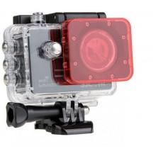 Красный фильтр для дайвинга GoPro Hero 3, 3+, 4, Sjcam 4000, 5000