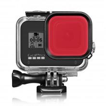 """Красный фильтр для дайвинга GoPro Hero 8 Black """"Shoot"""""""