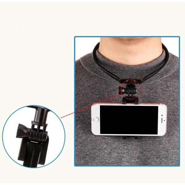 Крепление телефона или экшн камеры на шею