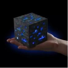 LED куб - детский ночник АЛМАЗНАЯ РУДА minecraft майнкрафт
