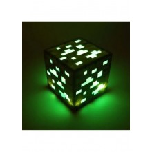 Led куб Ночник ИЗУМРУДНАЯ РУДА из minecraft майнкрафт