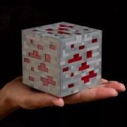 Led куб - дитячий нічник Ред Стоун (Red Stone) з Minecraft