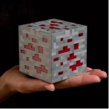 Led куб - детский ночник Ред Стоун (Red Stone) из Minecraft