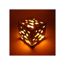 Led куб Ночник ЗОЛОТАЯ РУДА из minecraft майнкрафт