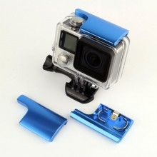 Защелка аквабокса GoPro 3, 3+, 4 (алюминиевая)