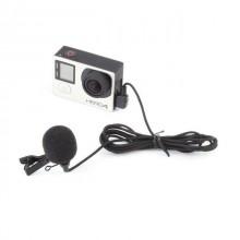 Микрофон петличный для GoPro 3, 4, SJ6, SJ7
