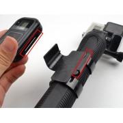 Крепление пульта GoPro Wi-Fi Smart Remote на монопод GoPro 3-Way Arm Grip Tripod