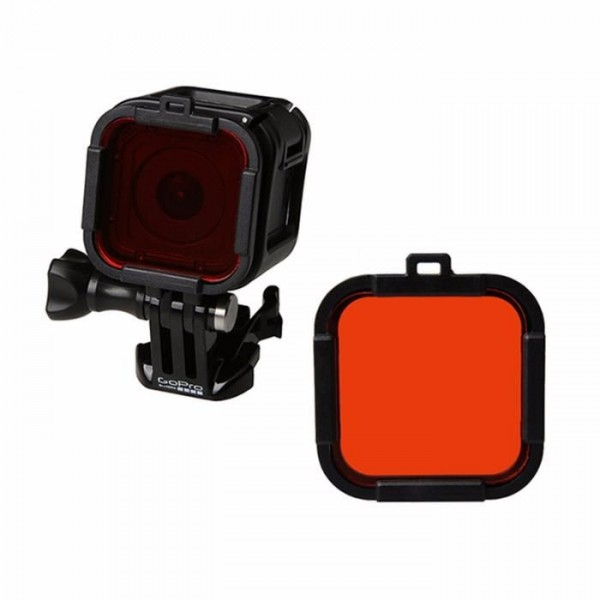 Красный фильтр для дайвинга GoPro Hero Session 4 \ 5