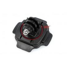 Крепление на шлем универсальное поворотное 360° + винт
