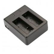 Зарядное устройство двойное для SJCAM 4000, 5000, Eken, GitUp, ThiEye, Andoer 4K, Yi Discovery