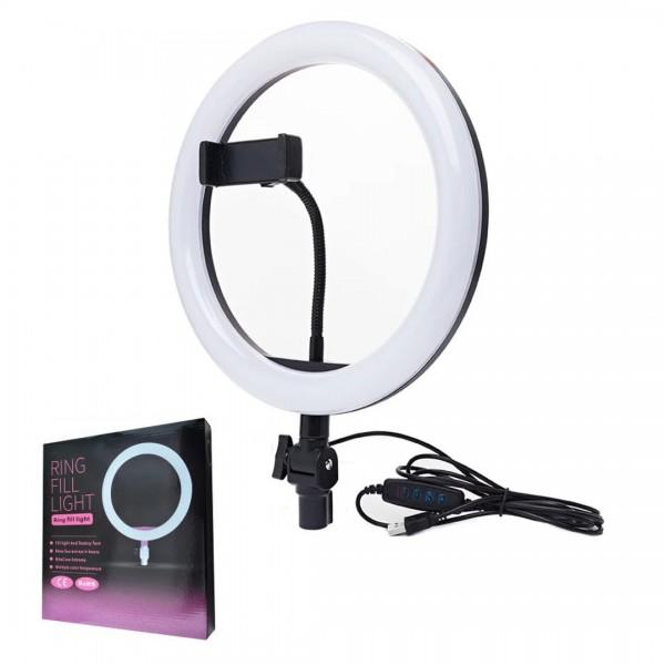 Світлодіодне селф-кільце LED Light 26 см (Круговий світло для селфі)