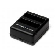 Зарядний пристрій подвійний для GoPro 4